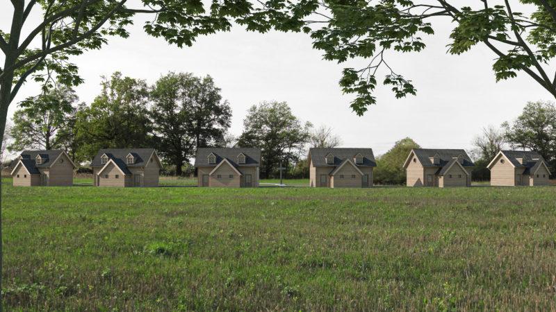 Ermitages vus de l'est